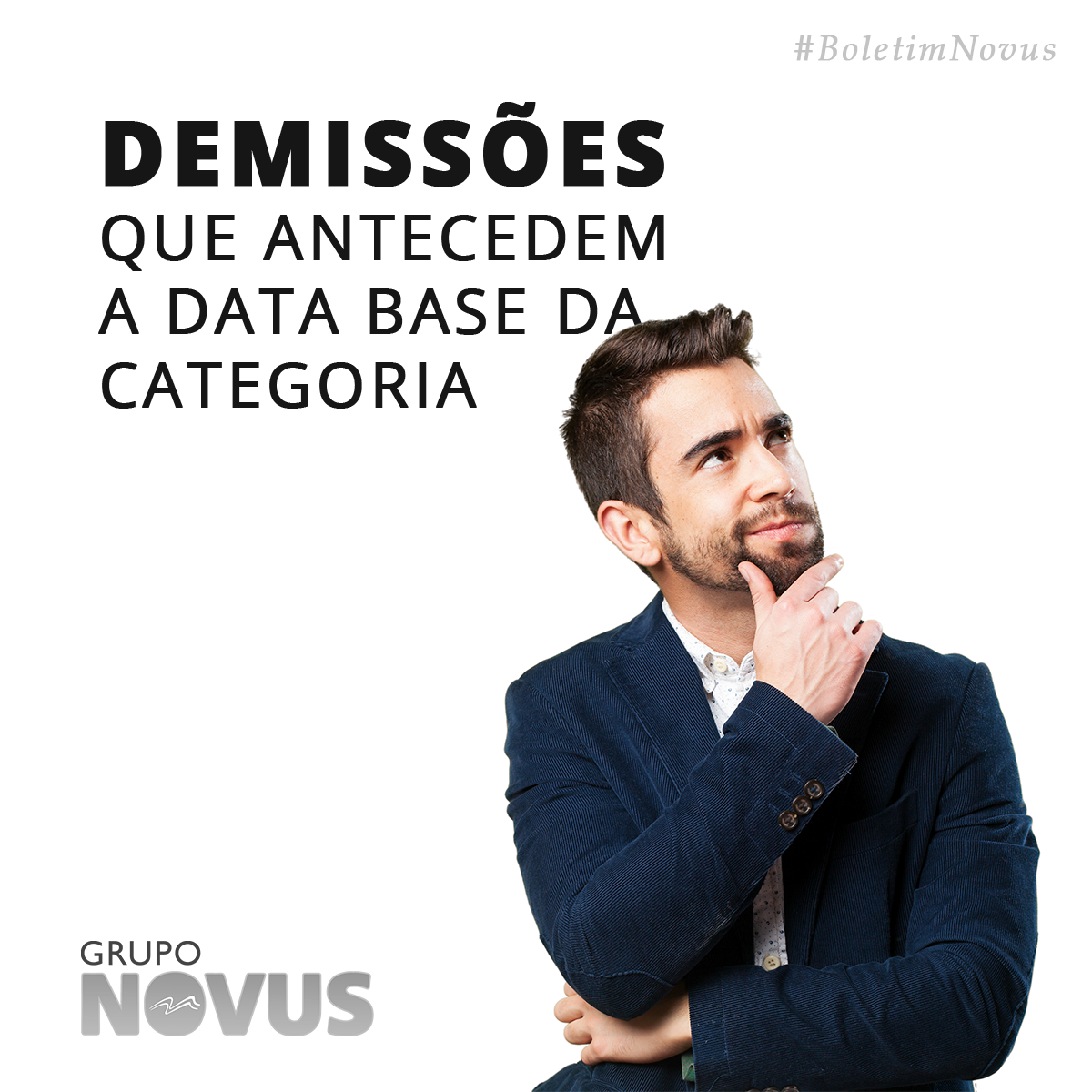 Demissões que antecedem a data base da categoria