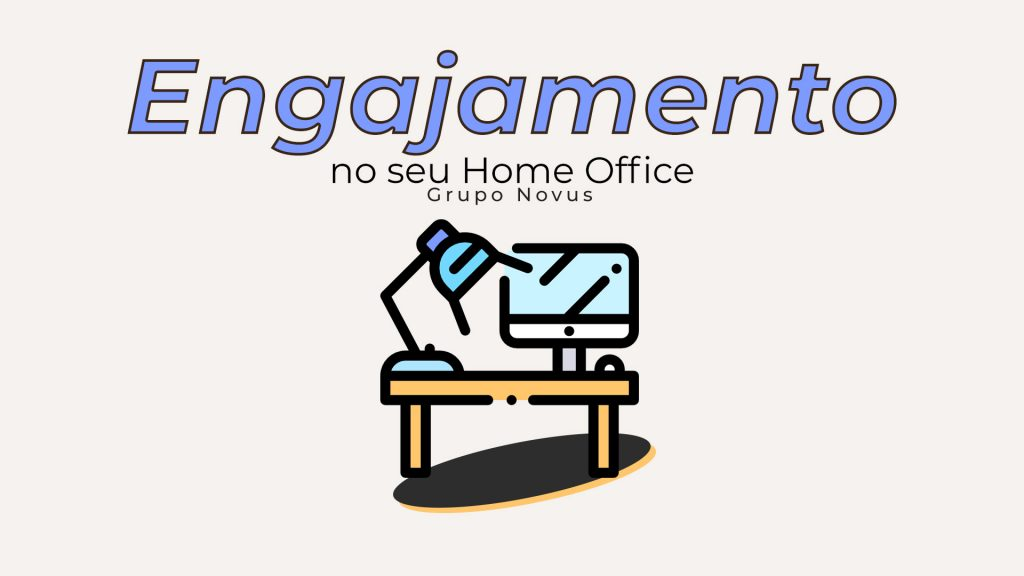 Equipe engajada no home office